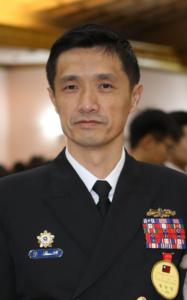 前海軍敦睦支隊長陳道輝。(資料照,陳怡誠攝)