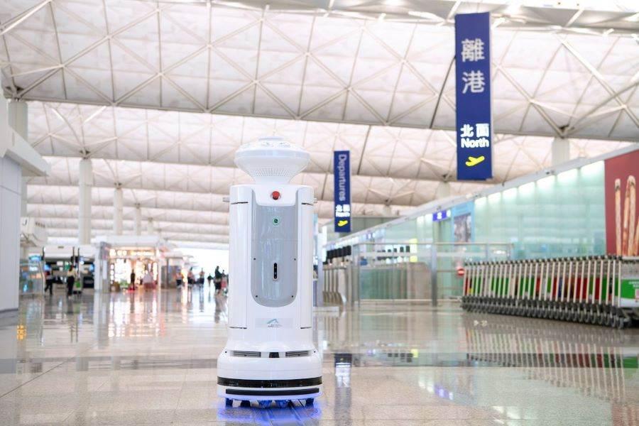 香港國際機場更是全球第一個應用智慧消毒機器人於非臨床醫療環境中的機場。(香港旅遊發展局 提供)