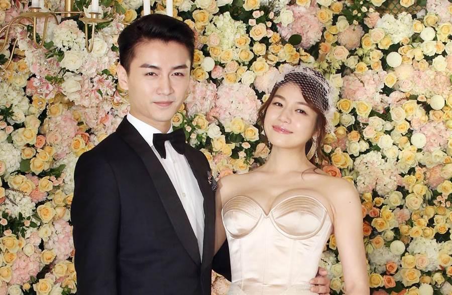 陳曉和陳妍希結婚4年,育有一子。(圖/中時資料照)
