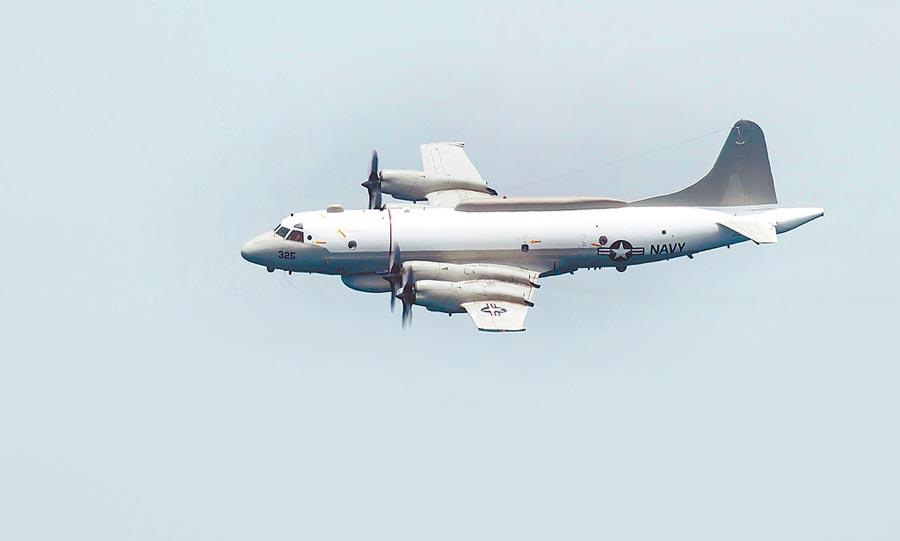 美軍EP-3E「白羊座」電偵機現蹤台灣南部海域。(取自美國海軍官網)
