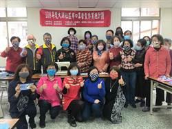 大湖社區縫製布口罩 贈送村落800戶人家
