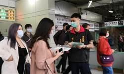 暖心直播主倉庫翻出3萬片口罩 從彰化車站開始發送