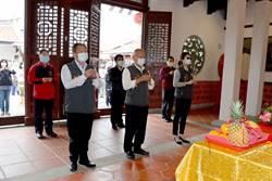 國中會考5月登場 徐耀昌率校長為考生祈福