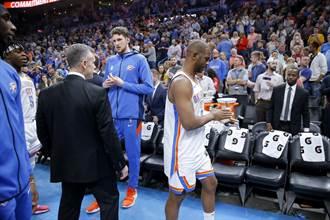 NBA》保羅預估:復賽至少還需3到4周