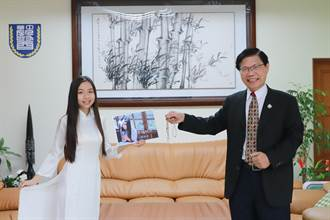 首位越南華語流行音樂歌手!中華醫大杜艷嬌莉「幸福時光」進軍歌壇
