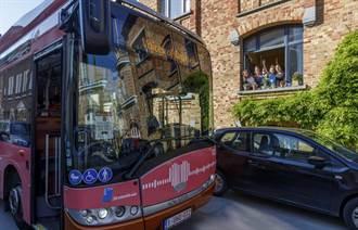 比利時公車放送「關懷留言」 居家隔離者特暖心