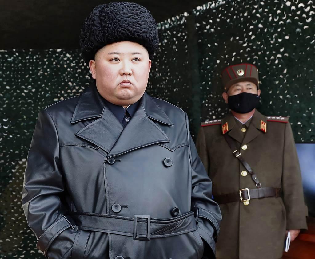 北韓最高領導人金正恩