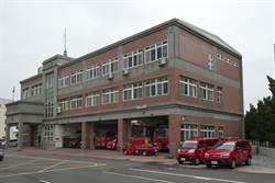 中市消防局第五大隊增建竣工 不用再擠14張辦公桌