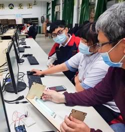 泰山高中電子科再創「紫外線殺菌機」 校長李立泰:歡迎各校來取經