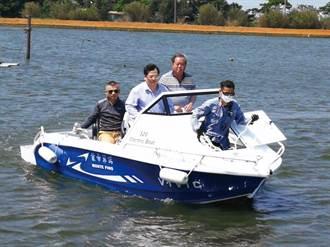氫淼科技潔淨雙燃料遊艇 完成首艘成品試航