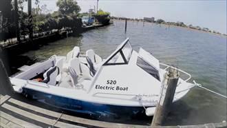 豪門觀光事業採購氫淼純電動遊艇
