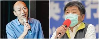 韓國瑜防疫超車!陳時中跌神壇 網點出關鍵原因
