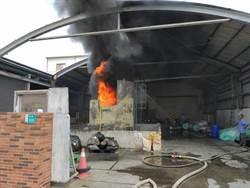 台南恆大口罩工廠油桶大火 火勢已控制