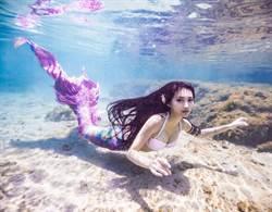 墾丁驚見美人魚!潛5米深海曲線畢露