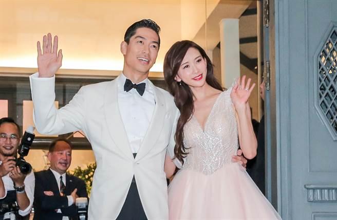 林志玲去年结婚成为人妻。(图/中时资料照片)