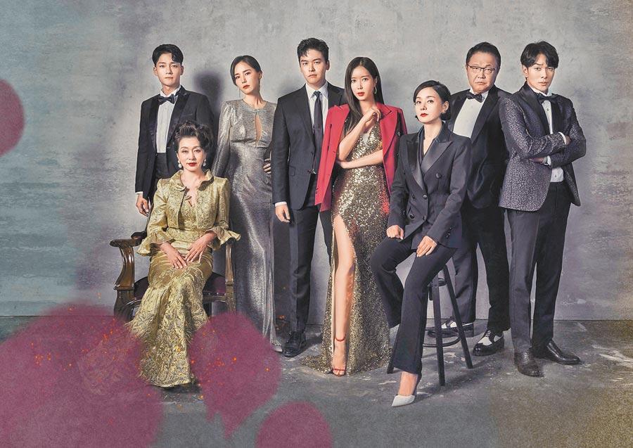 由林秀香、李章宇及裴宗玉主演的《優雅的家》,5月5日起將在中天娛樂台登場。(中天娛樂台提供)