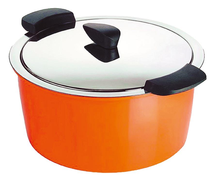 SOGO忠孝館KUHN RIKON瑞士HOTPAN休閒鍋2L(不限色),原價1萬900元、特價7999元,限量20個。(SOGO提供)