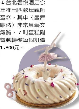 母.親.節.美.食-寵愛媽咪 五星飯店母親節蛋糕爭奇鬥豔 台北觀光飯店媽媽樂造型蛋糕精選推薦