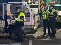 基隆崁仔頂購漁違停多 警方加強周遭違規取締