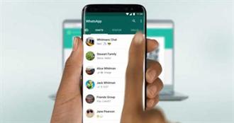 限制轉發5人 Whatsapp推訊息社交安全距離