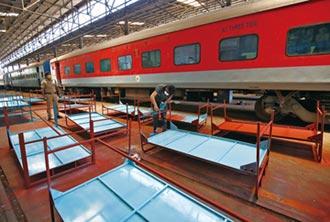 印度火車變新冠病房