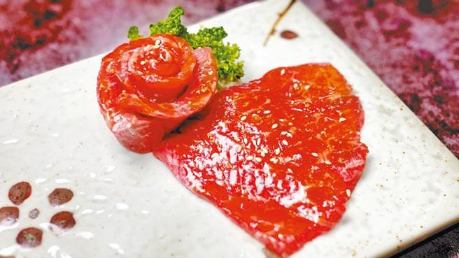 日本A5和牛赤身肉,口感較為紮實。(佐賀野仁提供)