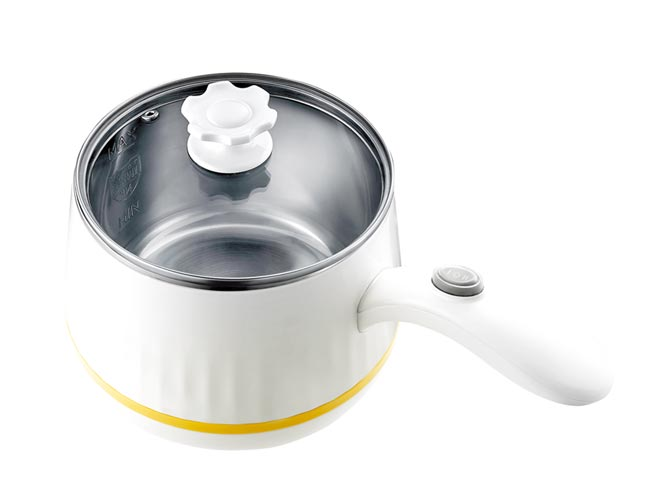 MINI美食調理鍋,蒸、煮、滷、燉皆適用,不開瓦斯也能做出養生的紅棗銀耳露、食補雞湯。圖片提供/CHIMEI