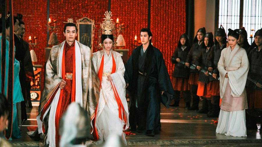 《白髮皇妃》經超、張雪迎、李治廷。(中視提供)