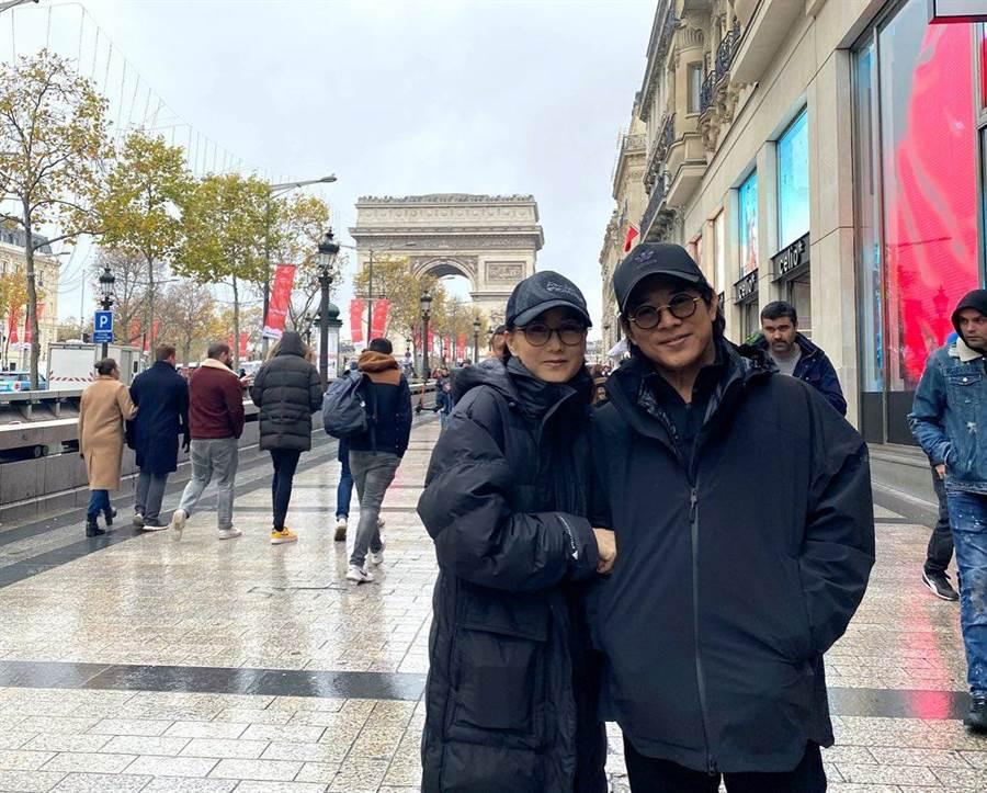 李連杰與利智結縭21年感情好。(摘自IG)
