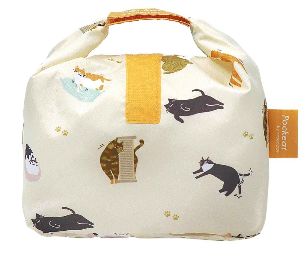 PChome 24h購物的好日子Pockeat環保食物袋(小食袋),原價690元,特價640元,30日前享2件9折優惠。(PChome 24h購物提供)