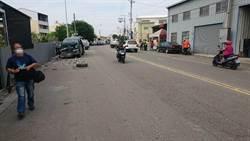 台中廂型車撞路邊臨停貨車  7人輕傷