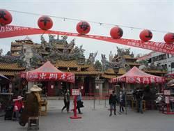 全國唯一寺廟警示景點 北港朝天宮加強51連假防疫