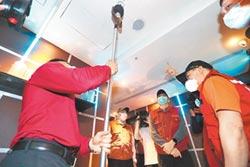 3縣市KTV安檢 台南錢櫃被開勸導單