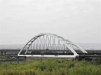 南投市地標綠美橋 將再現「紅顏」