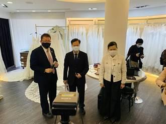 婚紗業快速領到補貼 龔明鑫盼迎接六月新娘