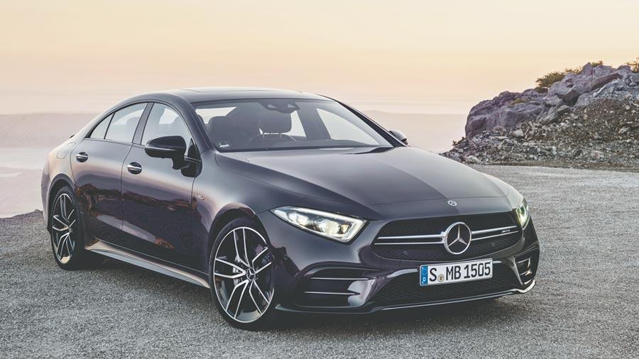 Mercedes-AMG CLS 53 4MATIC+。(DAIMLER提供)