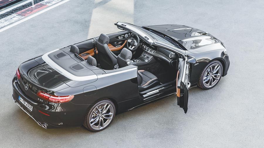 Mercedes-AMG E 53 4MATIC+ Cabriolet(尚未引進國內)。(DAIMLER提供)