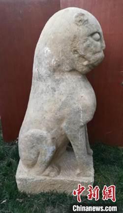河北隆堯發現元末明初石虎雕刻 已被文保部門收藏