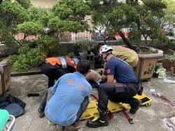 台南住宅施工意外 2工人墜樓1命危