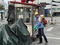 防疫無名英雄 台北市環保局消毒班守護市民環境