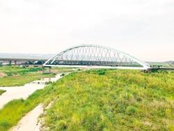 南投市綠美橋 將重現紅顏