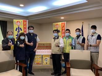 台南在地企業捐130箱酒精 黃偉哲:患難見真情