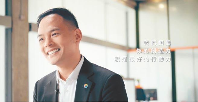 台灣大總經理林之晨期許創作者用作品啟發社會。(台灣大提供)