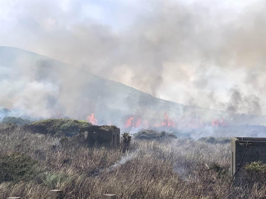 台灣北方三島「彭佳嶼」成火燒島