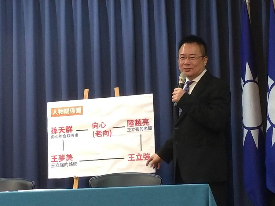 前國民黨副祕書長蔡正元。(黃福其攝)