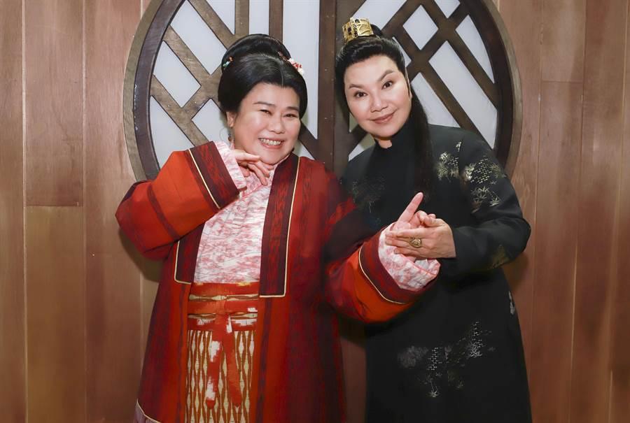 林美秀因為唐美雲擔任製作人就答應加入演出。(民視提供)