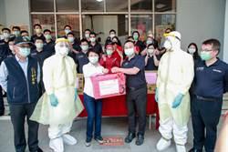 中市消防救護員視同醫護防疫物資優先補
