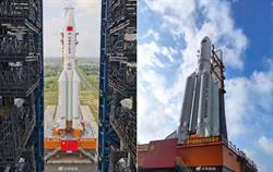 大陸長征5B完成組裝 5月初試射
