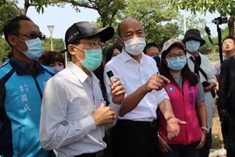 黃偉哲與韓國瑜熱線 針對防疫彼此加油