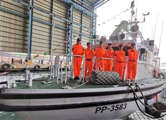 澎湖海巡隊增添新生力軍 新造35噸級巡防艇增能量